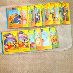 Disney a grow and learn library pooh set of 19 books